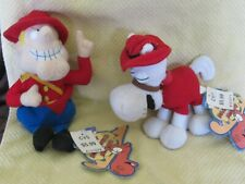 2000 Cvs stuffins, Dudley Do Right and his Horse plush characters