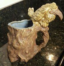 VTG 1973 Jim Rumph Ceramarte Tankard Mug Raven Splatter Bird