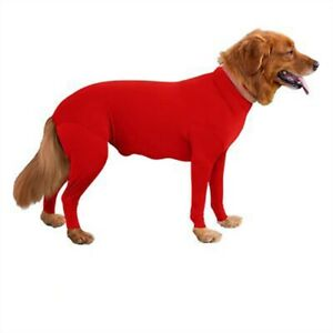 Pet Long Sleeves Bodysuit Jumpsuit Alternative Dogs Puppy Recovery Surgery Suit