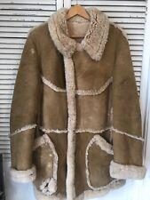 Vintage Genuine Shearling Marlboro Man Coat USA Men's 42