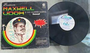 "Maxwell Udoh & His Masses Milita Band ""Forward Ever"" Afro Reggae LP Average"