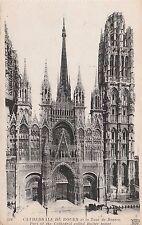 France - Cathedrale de Rouen et la Tour de Beurre - 1900's Postcard