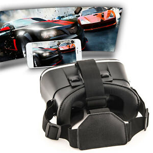 VR Brille Virtual Reality Headset Box für Apple iPhone XS Max XR 3D Video-Brille
