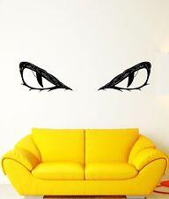 Wall Decal Animal Glance Predator Eyes Pupils Evil Mural Vinyl Stickers (ed253)