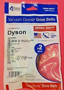 2 x Dyson DC01, DC04, DC07, DC14 drive rubber belts NON CLUTCH MODEL. 900527-01