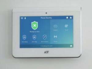 """Command 7"""" All-In-1 Smart Home Touchscreen Security Panel Accessories ADT7AIO-1"""