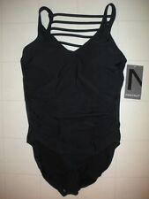 Magicsuit by MIRACLESUIT Black Steffi 1-Pc Swimsuit Sz 16 NWT