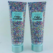(2 Pack) Victoria's Secret Cake Confetti Body Fragrance Lotion Set 8 fl.oz 236ml