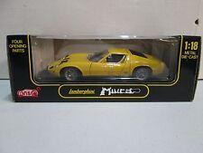 Anson Lamborghini Miura (yellow) 1/18
