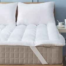 Twin Size Mattress Pad Cover Memory Foam Pillow Top Cooling Overfilled Topper
