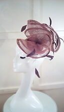 wedding races fascinator hat Libra NWT