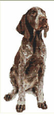 CROSS STITCH KIT - GERMAN POINTER  11 X26 CM