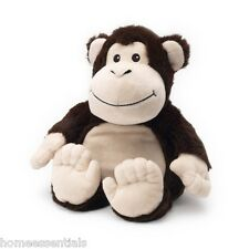 WARMIES Intelex Cozy Plush Monkey entièrement à réchauffer au micro-ondes Cuddle Soft lavande