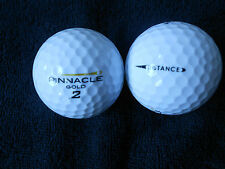 "20 PINNACLE ""GOLD DISTANCE""  - ""GOLD FLASH"" - Golf Balls - ""PEARL/A"" Grades."