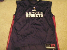 DENVER NUGGETS ADULT XL AUTHENTIC BASKETBALL PRACTICE JERSEY NEW