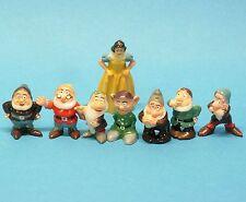 Walt Disney ' s : SCHNEEWITTCHEN + die 7 ZWERGE Disneykins MARX TOYS Snowwhite