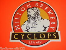 BEER PUMP CLIP - MILTON BREWERY CYCLOPS