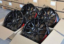 Breyton GTS glossy black 4 Felgen 8,5x20 + 10x20 Zoll BMW 5er F10 / F11 / F07