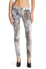 New Nordstrom Womens Size 24 00 Etienne Marcel Animal Print Skinny Jeans Cheetah
