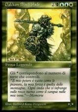 MTG DAKKON BLACKBLADE ITALIAN EXC - PLAYED/ROVINATO - LGND - MAGIC