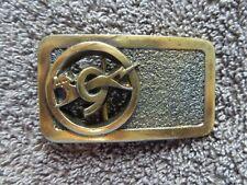 New listing Vintage 1983 Union Carbide Eveready 9 Lives Promo Belt Buckle 1983 Stamped back