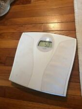 Taylor Lithium Electronic Weight White Bathroom Scale 7023