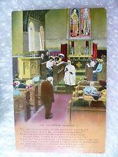 Postcard- The Volunteer Organist (1) Banforth