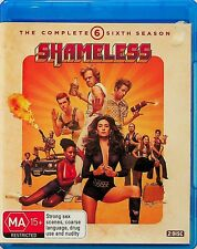 Shameless -The Complete Sixth Season (6) 2-Disc Blu Ray (Region B) William Macy