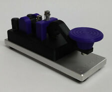 Purple Camelback Morse Code Key W/ Aluminum Base