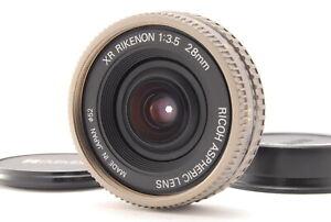 """EXC+++++"" RICOH XR RIKENON 28mm f/3.5 ASPHERICAL PENTX K MOUNT LENS Japan"