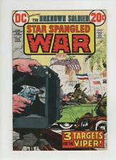 STAR SPANGLED WAR #167 F/VF, Unknown Soldier, Jack Sparling & Sam Glanzman art,