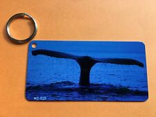 Whale tail keychain metal 1.5 X 3 gift idea Party favor stocking stuffer #10