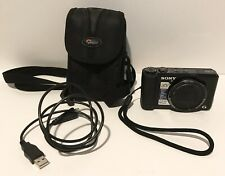 📸Sony Cyber-shot DSC-HX9V 16.2MP Digital Camera Black AS IS Untested POWERS ON