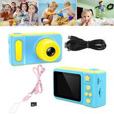"Kids Digital HD Camera Waterproof 2"" Color Screen Gift Children SD Card LF884 UK"