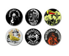 6 x Vincent Price Witchfinder General buttons (25mm, badges, pins, horror)