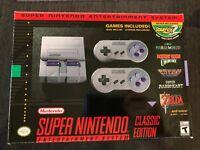 Authentic SNES Super Nintendo Classic Mini Super Entertainment System 21 Games