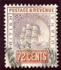 British Guiana 1889 QV 72c dull purple & red-brown very fine used. SG 203.