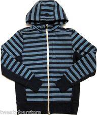 Mens Lululemon Core Hoodie Sweatshirt Micro Macro Stripe Inkwell Blue sz S