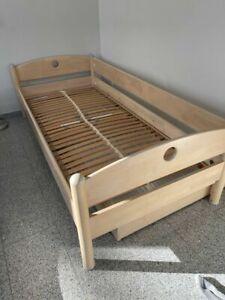 PAIDI FLEXIMO Bett; Birke; hell; gebraucht guter Zustand