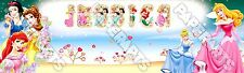 "Princess Poster 30"" x 8.5"" Personalized Custom Name Printing for Children"