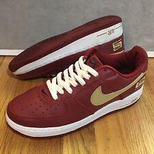 2003 Nike Air Force 1 Low Lebron James Varsity Crimson Gold Men's Size 8.5