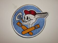 b9645 WW2 US Army Air Force 587th Bomb Squadron Patch R12D