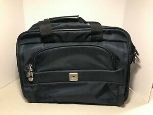 DELSEY Carry On Overnight Navy Blue Travel Shoulder Bag Backpack Duffel Duffle