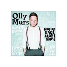 OLLY MURS - RIGHT PLACE RIGHT TIME  CD  12 TRACKS INTERNATIONAL POP  NEU