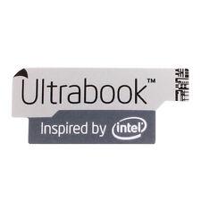 Intel Ultrabook Sticker - Aufkleber grau