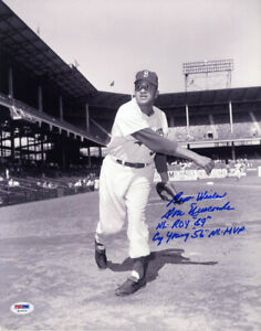 Don Newcombe SIGNED 11x14 Photo Cy Young Brooklyn LA Dodgers PSA/DNA AUTOGRAPHED