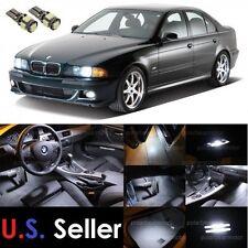 1997-2003 BMW E39 5-Series M5 LED SMD Lights Interior Package Kit 18Pcs White
