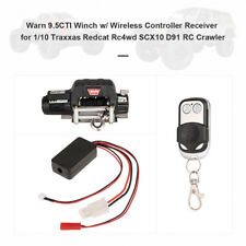 Winch Wireless Remote Controller Receiver for 1/10 Axial SCX10 D91 RC Crawler