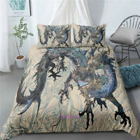 Dragon Single/Double/Queen/King Bed Doona/Quilt/Duvet Cover Set Linen Pillowcase