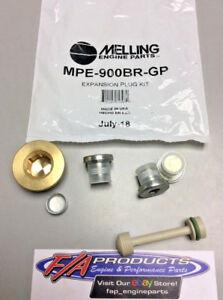 Chevy LS 4.8 5.3 5.7 6.0 6.2 Liter Engines Expansion Plug Kit Melling MPE900BRGP